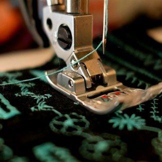 Coton à motifs